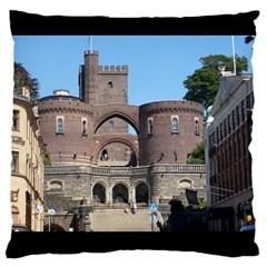 Helsingborg Castle Large Cushion Case (Two Sided)