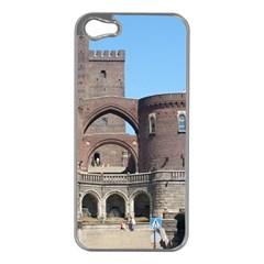 Helsingborg Castle Apple iPhone 5 Case (Silver)