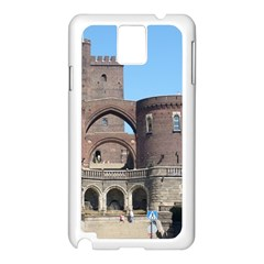 Helsingborg Castle Samsung Galaxy Note 3 N9005 Case (White)