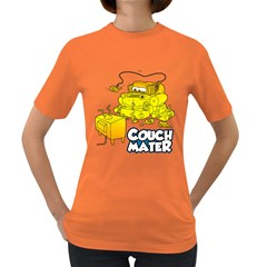 Couch Mater Women s T-shirt (Colored)