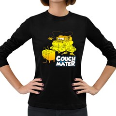 Couch Mater Women s Long Sleeve T Shirt (dark Colored)