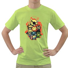 Despicable Avengers Men s T Shirt (green)