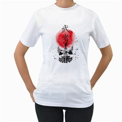 The Warrior Women s T-Shirt (White)