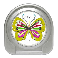 Color Butterfly  Desk Alarm Clock