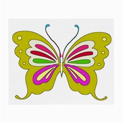 Color Butterfly  Glasses Cloth (small)