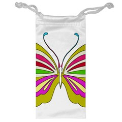 Color Butterfly  Jewelry Bag