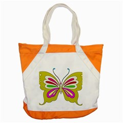 Color Butterfly  Accent Tote Bag