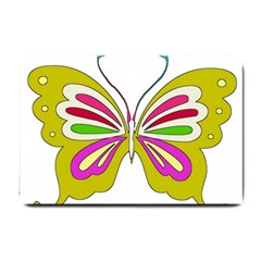 Color Butterfly  Small Door Mat
