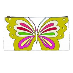 Color Butterfly  Pencil Case
