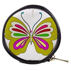 Color Butterfly  Mini Makeup Case