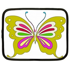 Color Butterfly  Netbook Sleeve (xl)