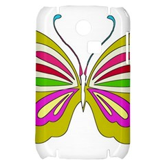 Color Butterfly  Samsung S3350 Hardshell Case