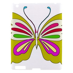 Color Butterfly  Apple Ipad 3/4 Hardshell Case