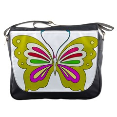 Color Butterfly  Messenger Bag