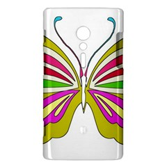 Color Butterfly  Sony Xperia ion Hardshell Case