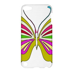 Color Butterfly  Apple iPod Touch 5 Hardshell Case