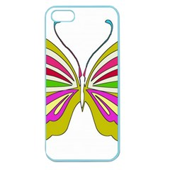 Color Butterfly  Apple Seamless iPhone 5 Case (Color)