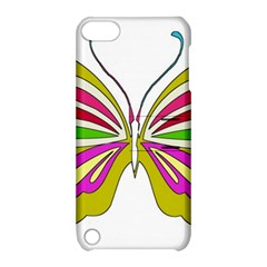 Color Butterfly  Apple iPod Touch 5 Hardshell Case with Stand