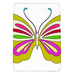 Color Butterfly  Removable Flap Cover (Large)