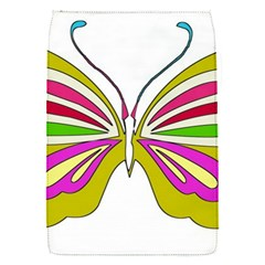 Color Butterfly  Removable Flap Cover (Small)