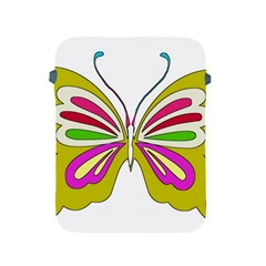 Color Butterfly  Apple Ipad Protective Sleeve