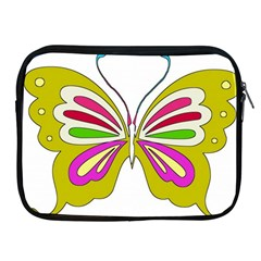 Color Butterfly  Apple iPad Zippered Sleeve