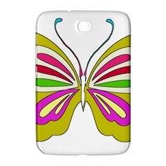 Color Butterfly  Samsung Galaxy Note 8.0 N5100 Hardshell Case