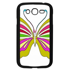 Color Butterfly  Samsung Galaxy Grand DUOS I9082 Case (Black)