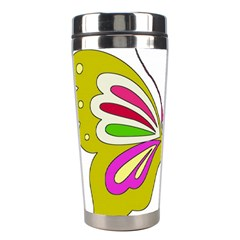 Color Butterfly  Stainless Steel Travel Tumbler