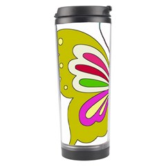 Color Butterfly  Travel Tumbler