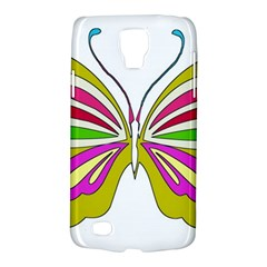 Color Butterfly  Samsung Galaxy S4 Active (I9295) Hardshell Case