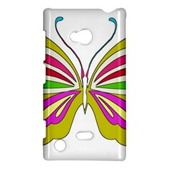 Color Butterfly  Nokia Lumia 720 Hardshell Case
