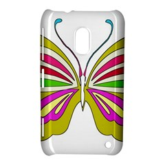 Color Butterfly  Nokia Lumia 620 Hardshell Case