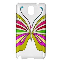 Color Butterfly  Samsung Galaxy Note 3 N9005 Hardshell Case