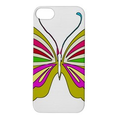 Color Butterfly  Apple Iphone 5s Hardshell Case