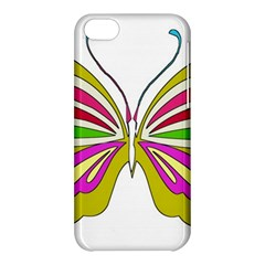 Color Butterfly  Apple Iphone 5c Hardshell Case