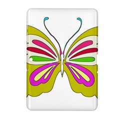 Color Butterfly  Samsung Galaxy Tab 2 (10.1 ) P5100 Hardshell Case
