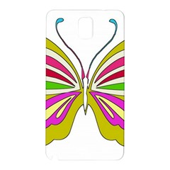 Color Butterfly  Samsung Galaxy Note 3 N9005 Hardshell Back Case