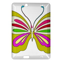 Color Butterfly  Kindle Fire HD 7  (2nd Gen) Hardshell Case