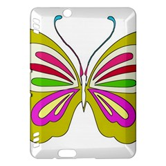 Color Butterfly  Kindle Fire Hdx 7  Hardshell Case