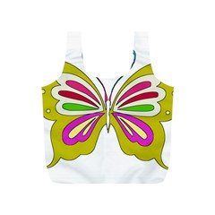 Color Butterfly  Reusable Bag (S)