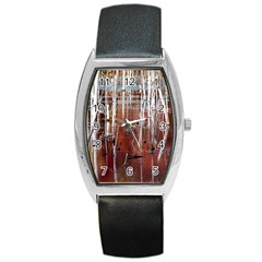 Swamp2 Filtered Tonneau Leather Watch
