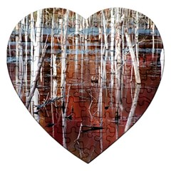 Swamp2 Filtered Jigsaw Puzzle (heart)