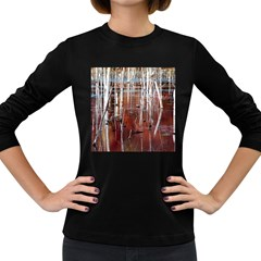 Swamp2 Filtered Women s Long Sleeve T-shirt (Dark Colored)