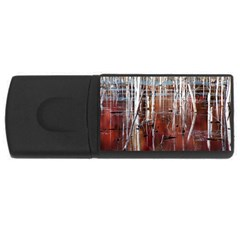 Swamp2 Filtered 4gb Usb Flash Drive (rectangle)