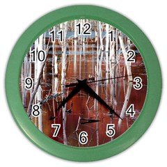 Swamp2 Filtered Wall Clock (Color)