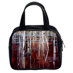 Swamp2 Filtered Classic Handbag (Two Sides)