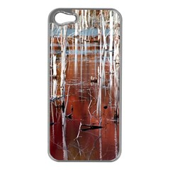 Swamp2 Filtered Apple iPhone 5 Case (Silver)