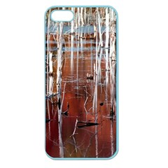 Swamp2 Filtered Apple Seamless iPhone 5 Case (Color)