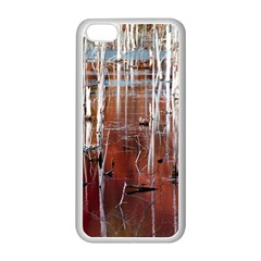 Swamp2 Filtered Apple iPhone 5C Seamless Case (White)